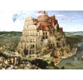 Enigma Brand 1000pc Jigsaw - Babel  (Made From 100% High Quality European Blue Board From Holland)