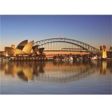 Enigma Brand 1000pc Jigsaw - Sydney Opera House  (Made From 100% High Quality European Blue Board From Holland)