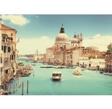 Enigma Brand 1000pc Jigsaw -Grand Canal Basilica Venice (Made From 100% High Quality European Blue Board From Holland)