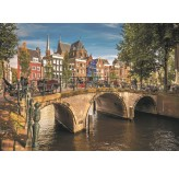 Enigma Brand 1000pc Jigsaw -Amsterdam Holland (Made From 100% High Quality European Blue Board From Holland)