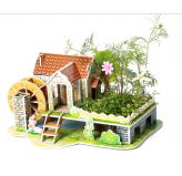 "3D Puzzles: ""RAINBOW HOUSE"""